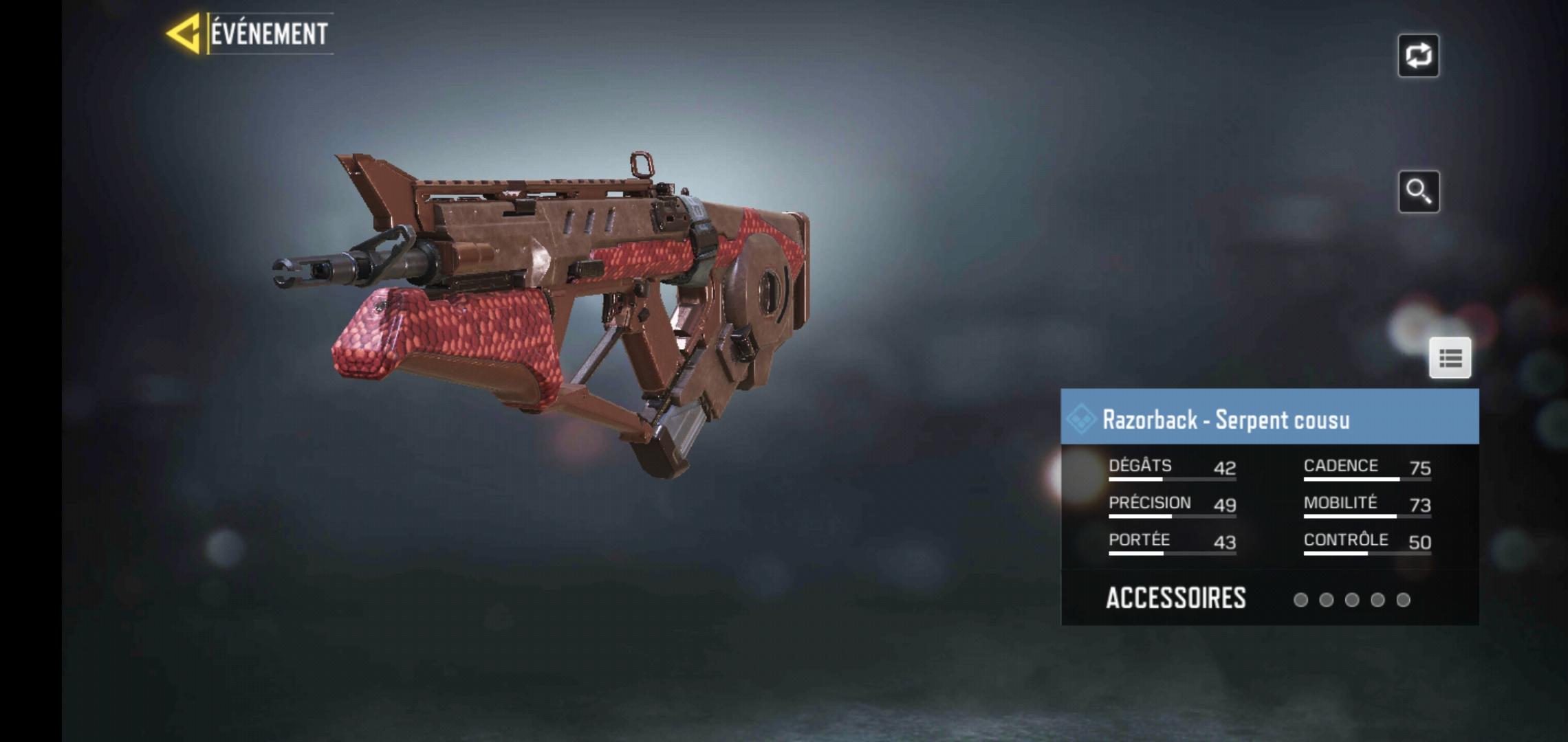 arme-sanglier-razorback-cod-mobile
