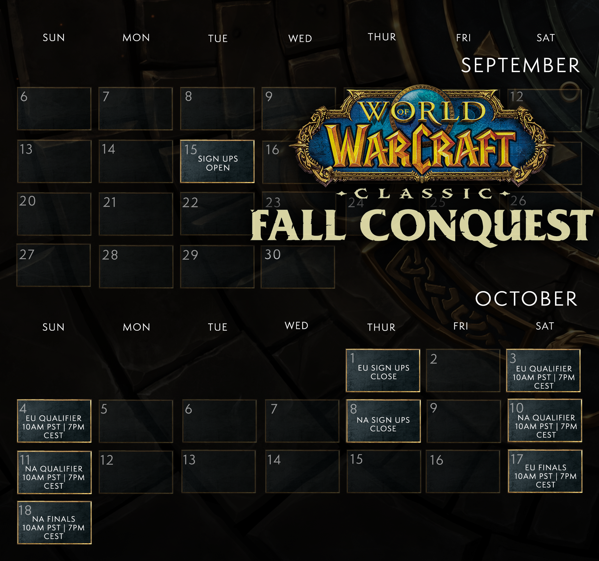 calendrier-tournoi-arathi-fall-conquest-wow-classic