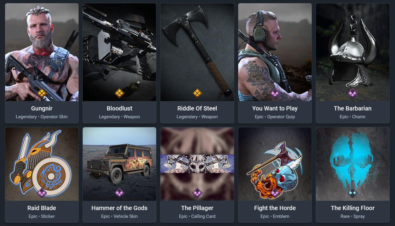 ragnarok-pack-gungnir-cod-warzone-modern-warfare