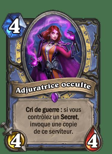 adjuratrice-occulte-carte-hearthstone-extension-folle-journee-sombrelune