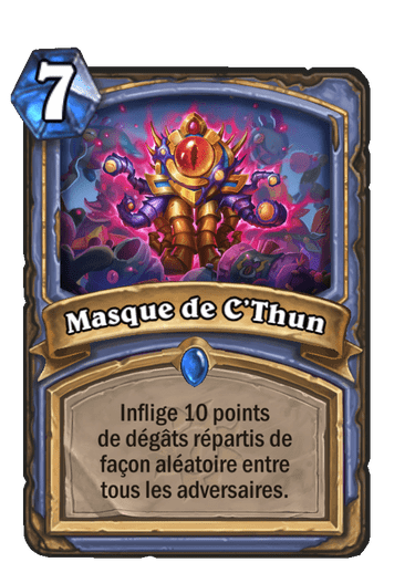 masque-cthun-carte-extension-folle-journee-sombrelune-hearthstone