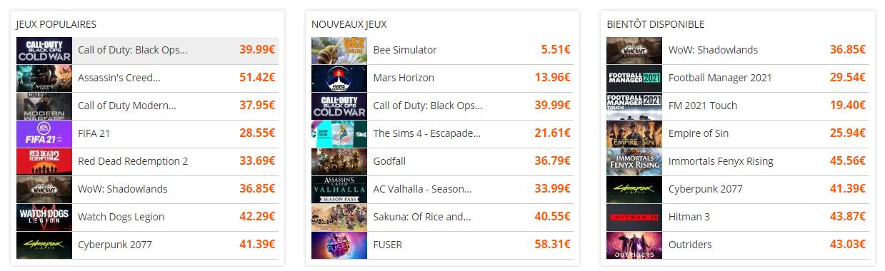 DLCompare-home-liste-des-jeux