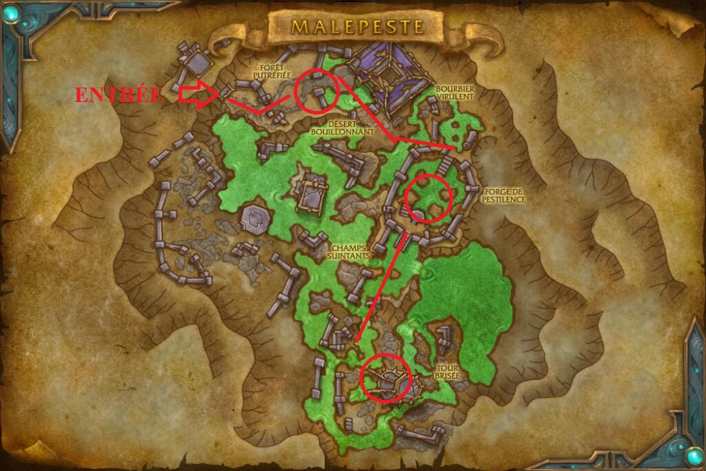 route-malepeste-carte-wow-shadowlands