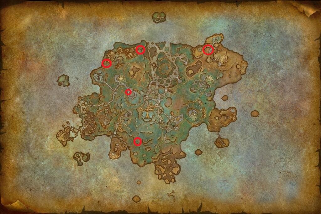 planque-feerique-wow-carte-emplacements-shadowlands