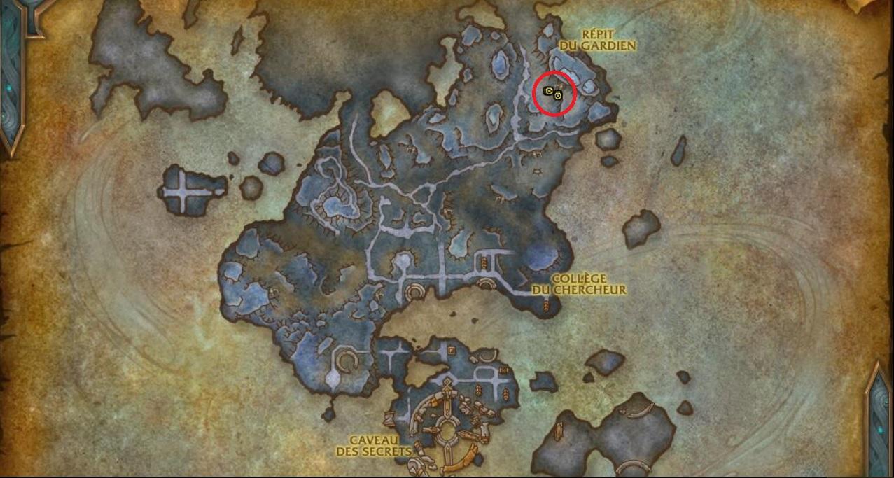 archiviste-roh-suir-emplacement-carte-korthia-wow-shadowlands
