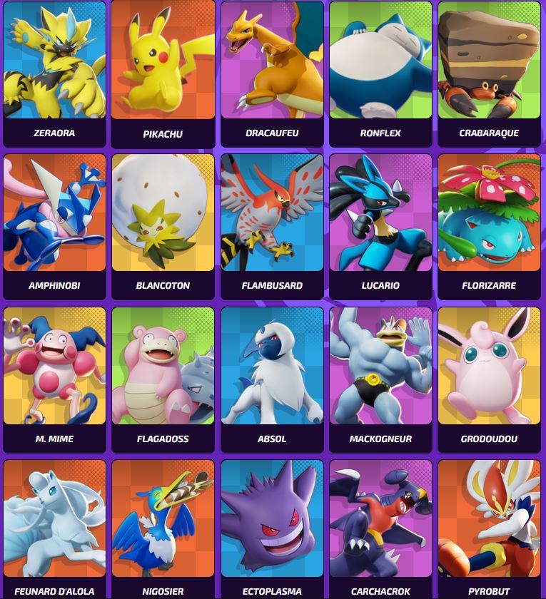 pokemon-unite-personnages-liste-noms