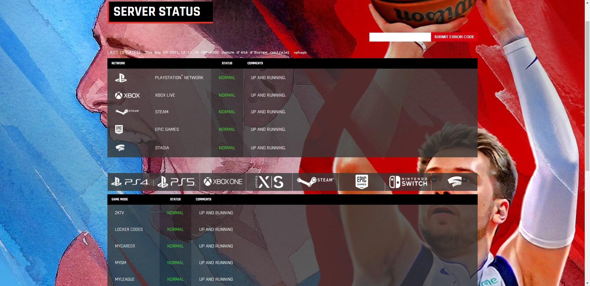 server-status-nba2k22