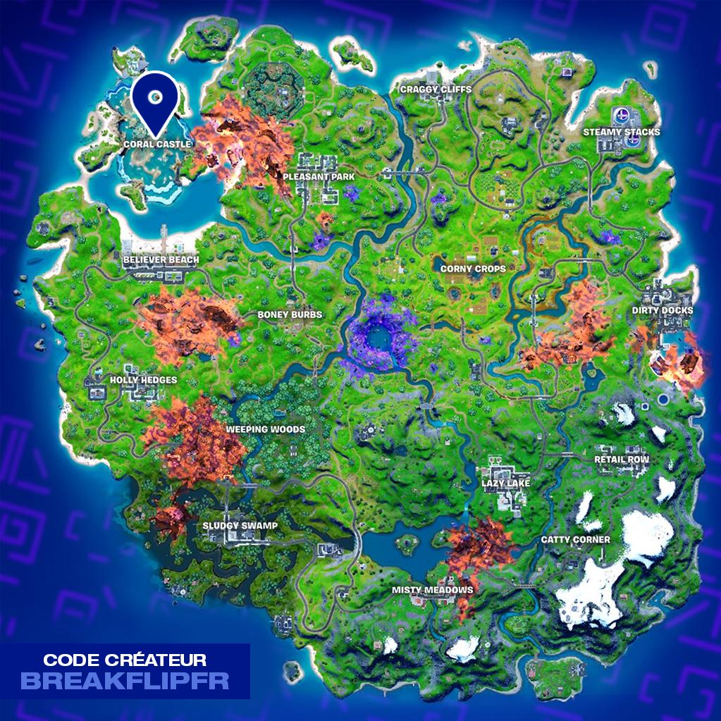 map-trouver-bocaux-bleu-glace-coral-castle-fortnite