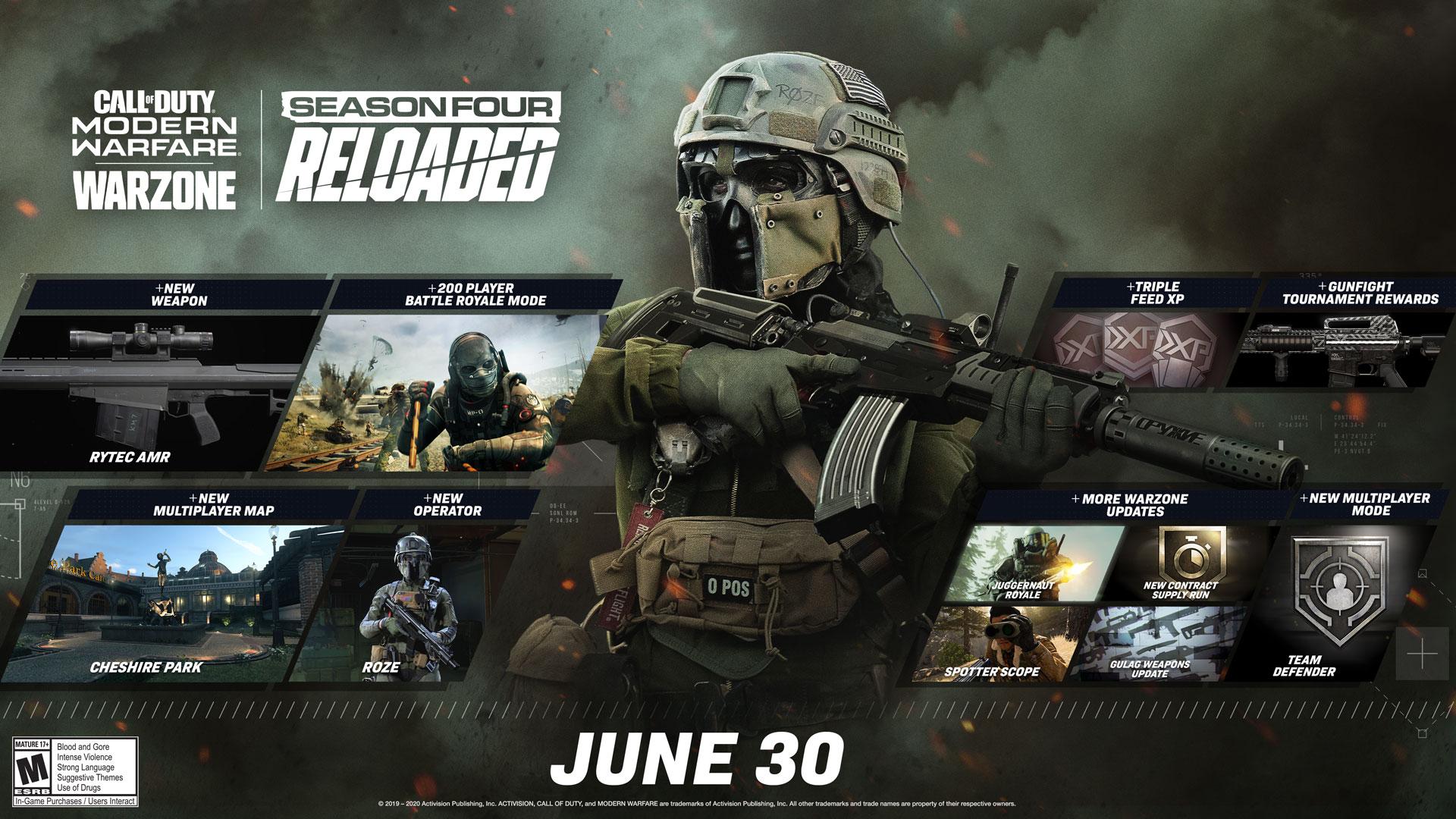 Warzone introduit les parties à 200 joueurs — Call of Duty