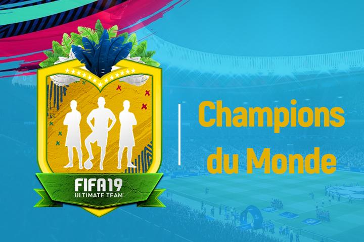 FIFA 19 Solution DCE France Champions Du Monde