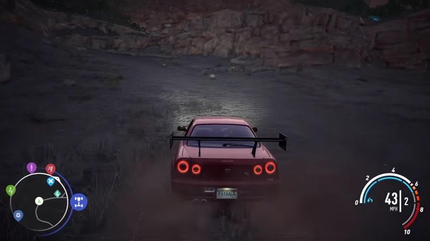 Need For Speed Payback Trouver Les Morceaux Dpave De La