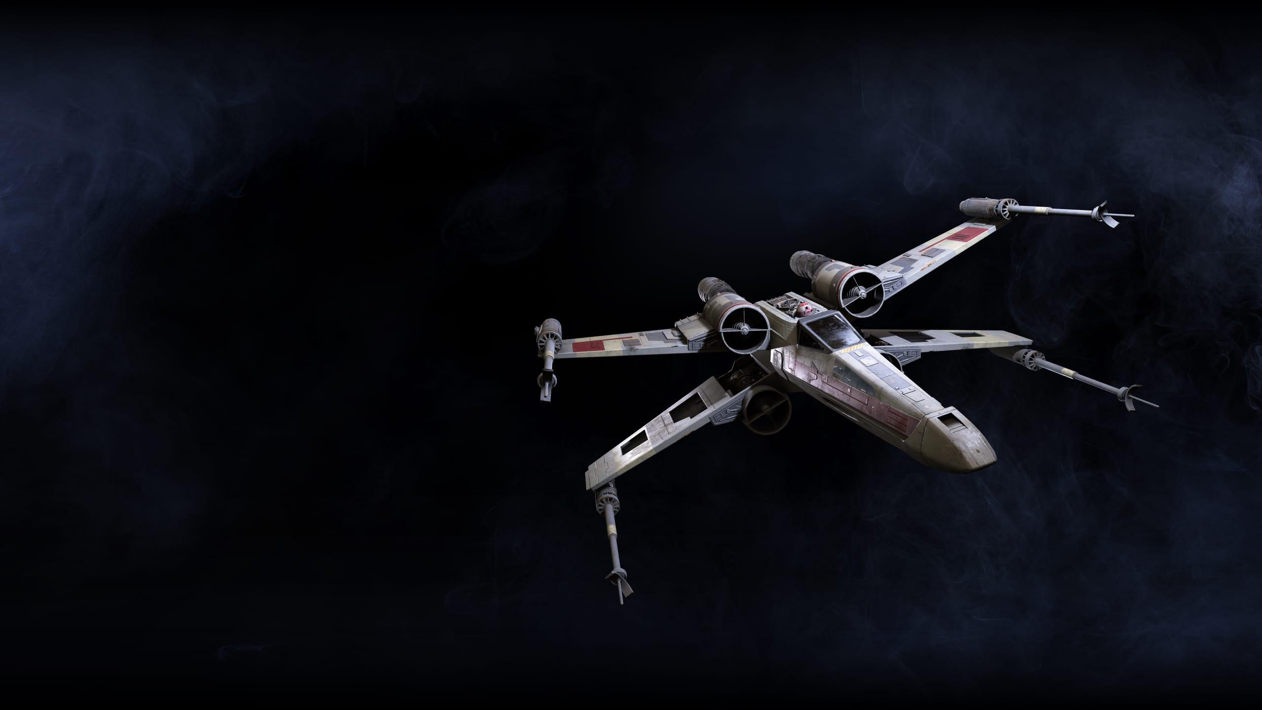 star wars battlefront 2 le vaisseau chasseur x wing. Black Bedroom Furniture Sets. Home Design Ideas