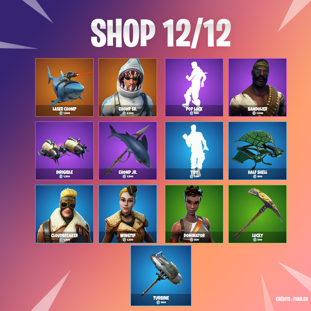 Boutique Fortnite 12 décembre - Breakflip - Actualité eSport et jeu ... 1354e5b5fdd9