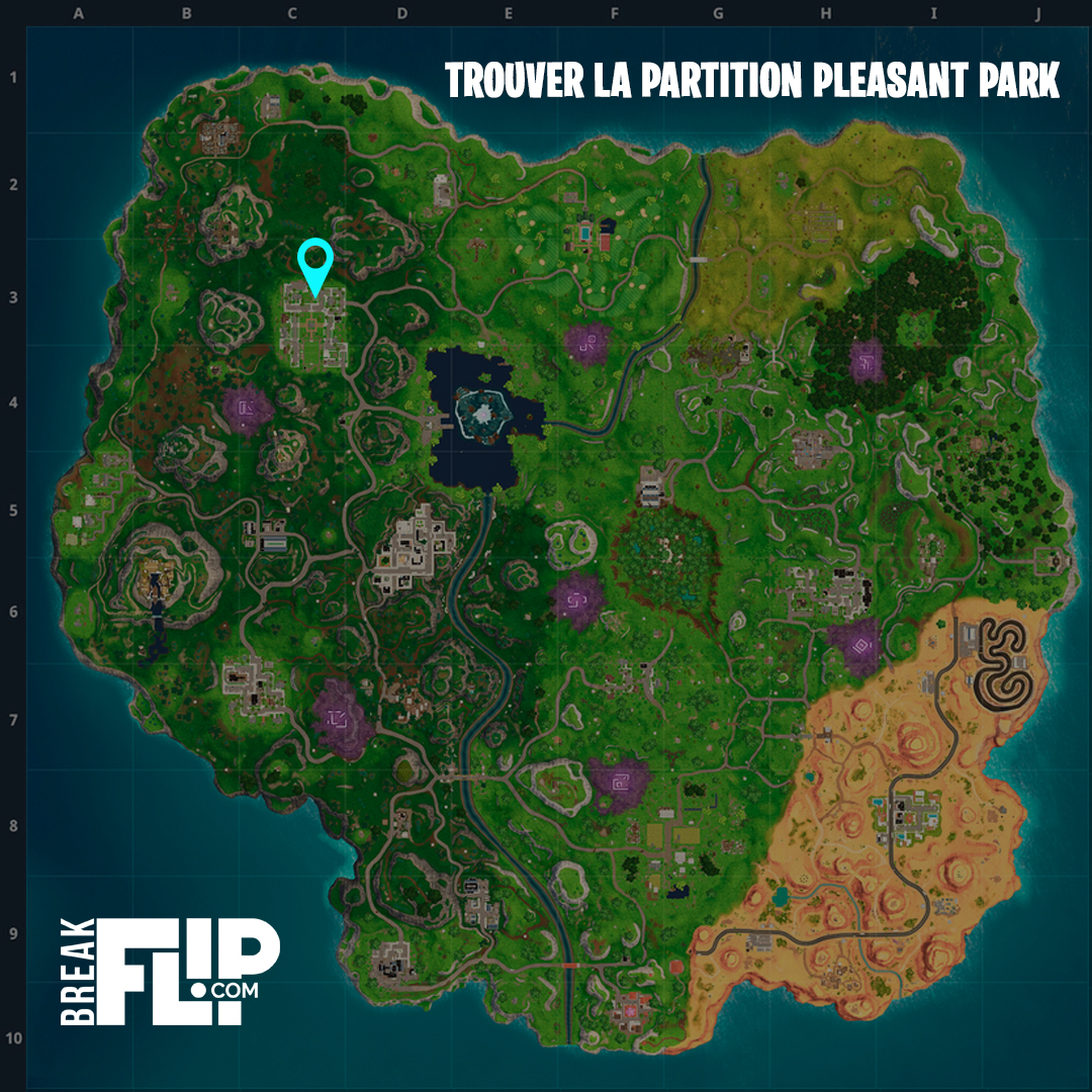 carte-fortnite-defi-semaine-6-partie-1-trouver-partition-pleasant-park