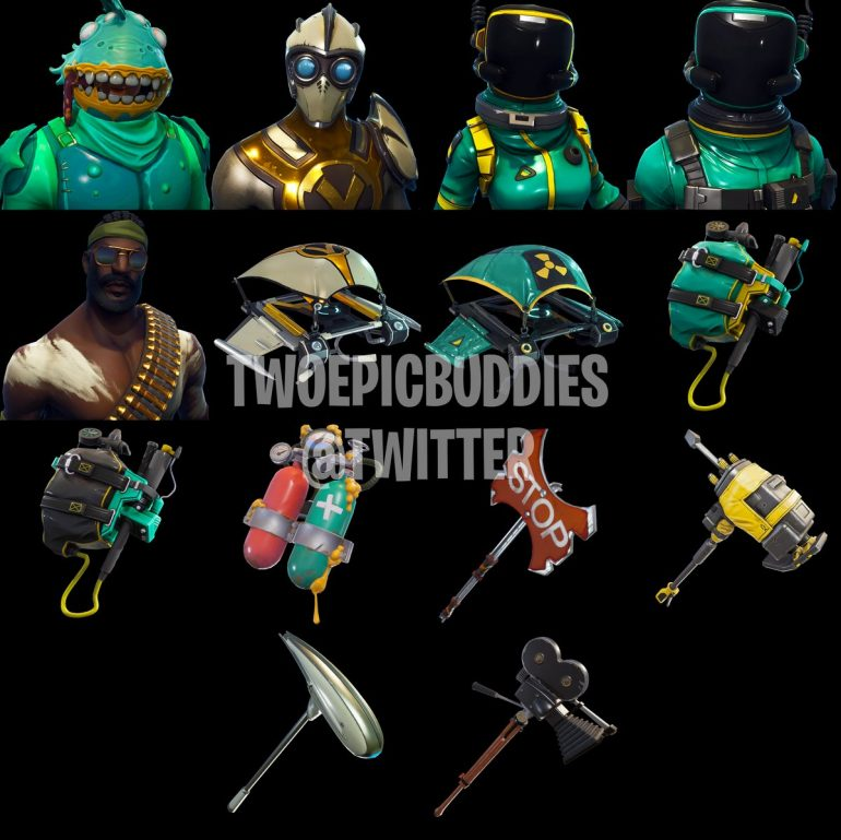 Leaked Fortnite Skins