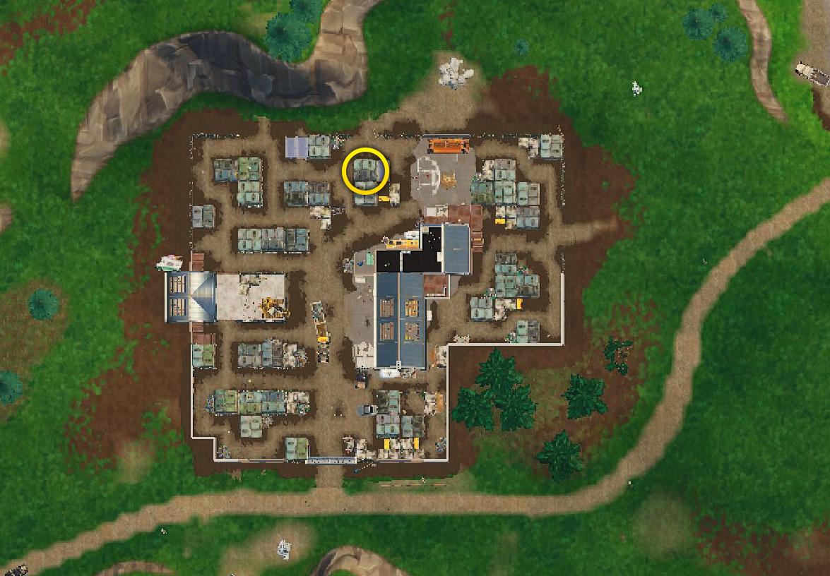 suivre la carte au tresor haunted hills Fortnite : Carte au trésor à Haunted Hills, défi saison 4