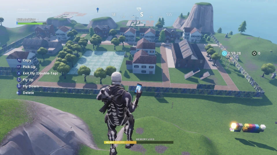 alexandria-safe-zone-walking-dead-fortnite-mode-creatif