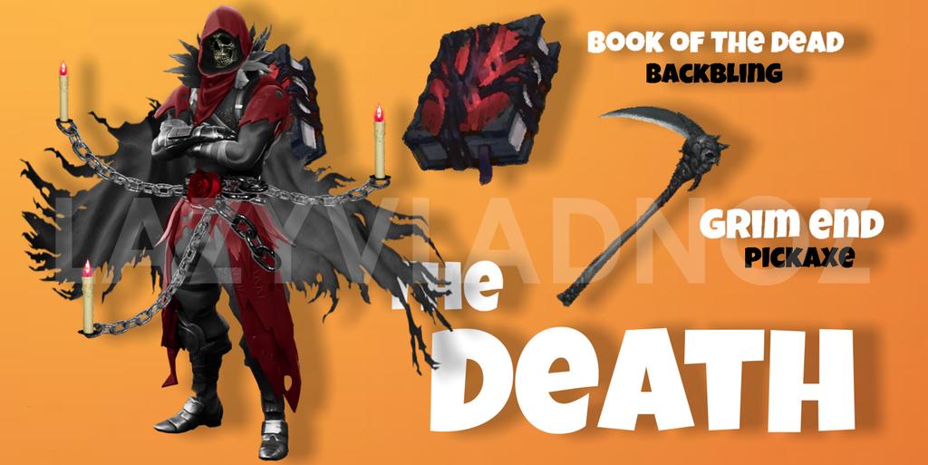 Fortnite skin faucheuse grim reaper fan concept breakflip actualit guides et astuces - Fortnite plague skin ...