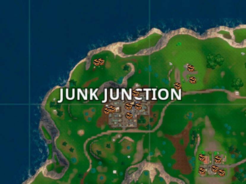 fortnite coffres dans junk junction breakflip actualite guides et astuces esport et jeu video - fortnite atterir rapidement