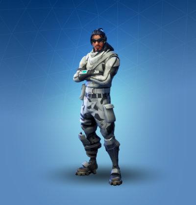 fortnite outfit absolute zero 1 400x418 jpg - dessin fortnite skin rex