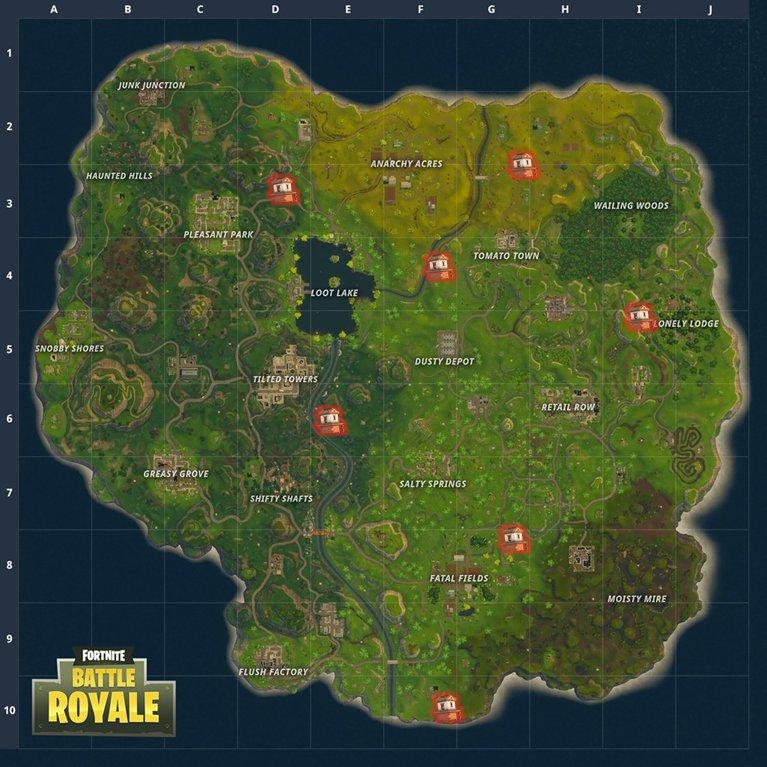 dwgbxavxuaeahtb - kit de soin fortnite map