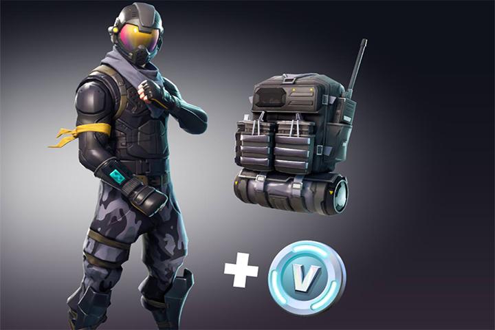 fortnite starter pack rogue agent skin breakflip actualite guides et astuces esport et jeu video - prochaine lan fortnite 2018