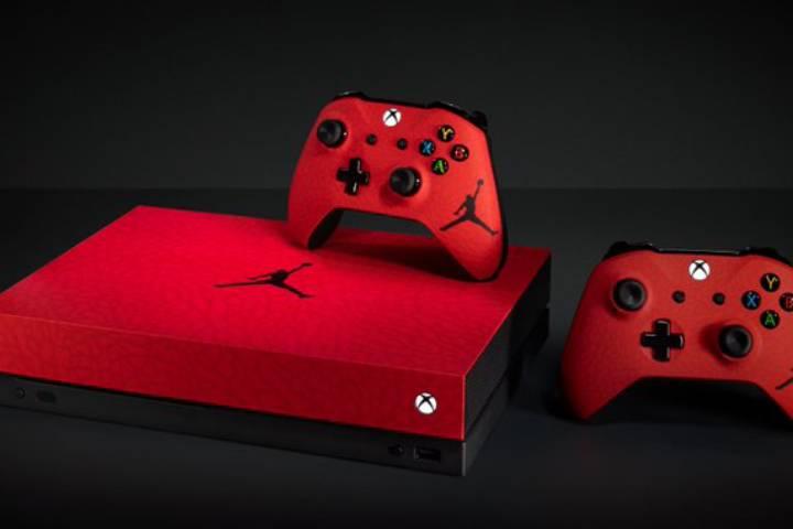 Xbox One X Jordan Concours Pour Gagner Une Console Exclusive Breakflip Actualites Et Guides Sur Les Jeux Video Du Moment