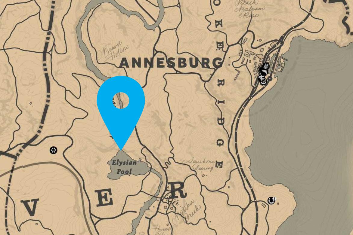 Carte Au Tresor Annesburg.Red Dead Redemption 2 Carte Au Tresor Lingot D Or Flaco