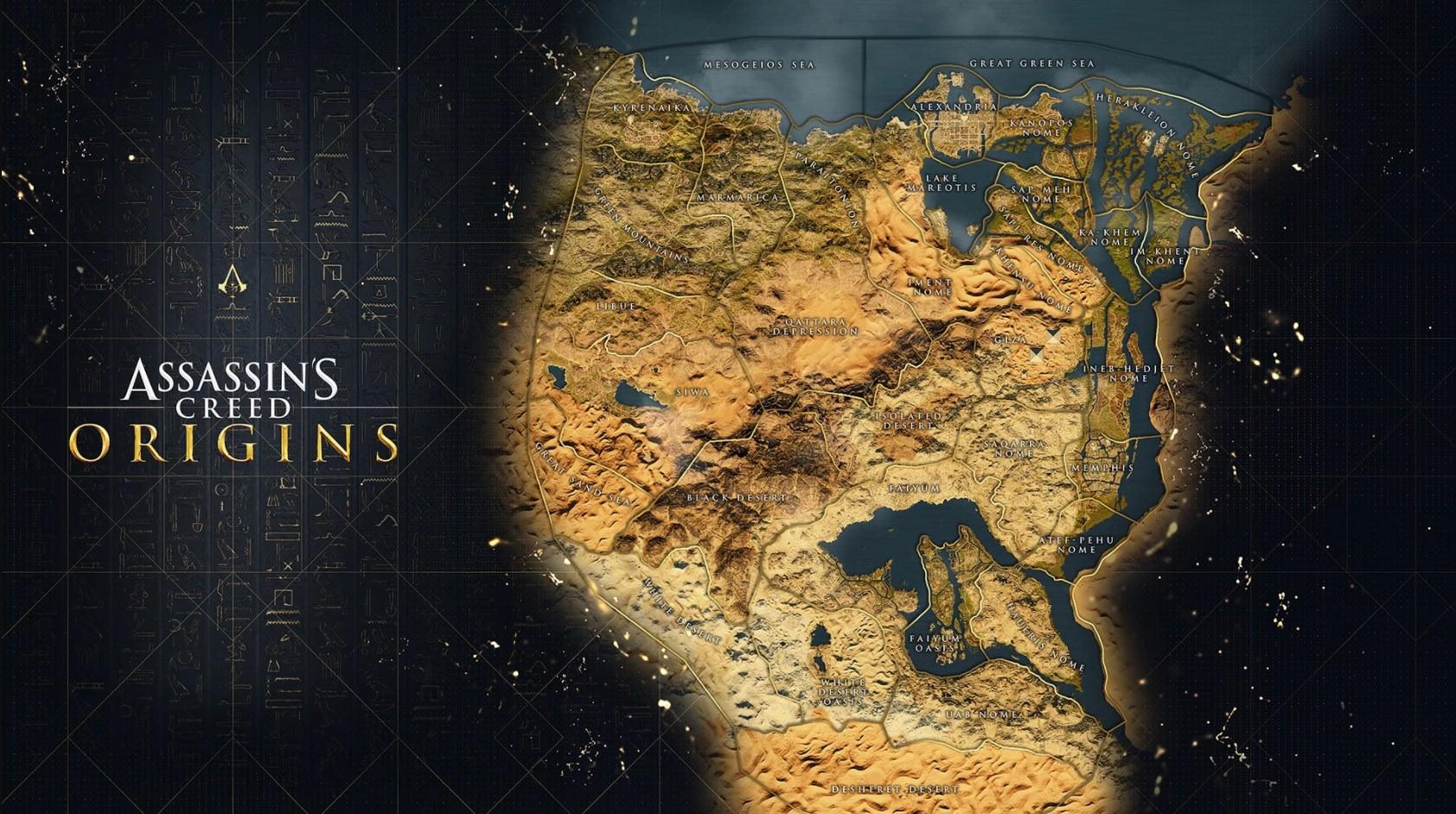 Grece Carte Roblox Assassin S Creed Origins La Carte Du Monde Breakflip Actualite Guides Et Astuces Esport Et Jeu Video