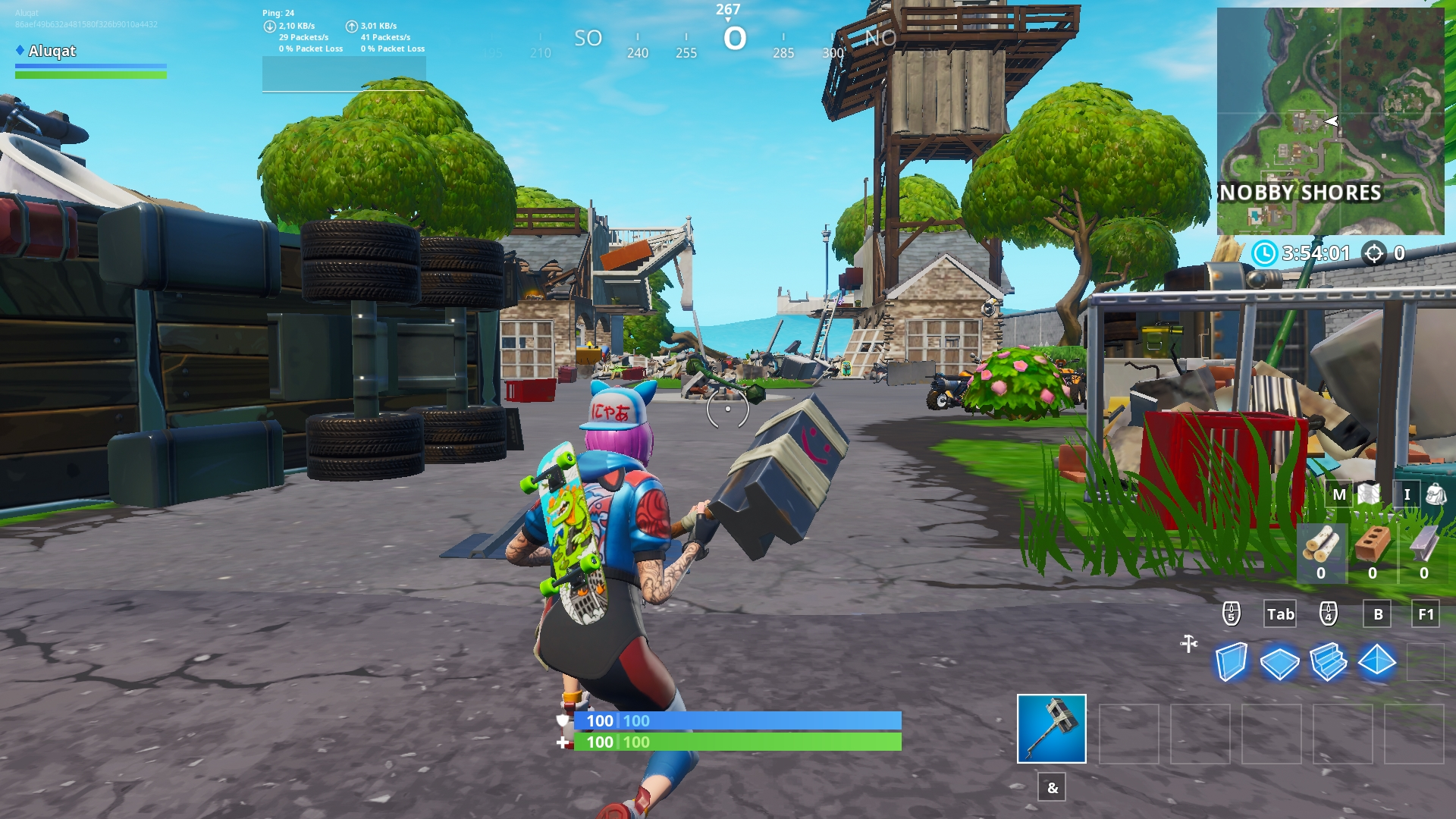 fortnite-maison-detruite-snobby-shores-monstre-polar-peak-patch-921