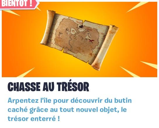 Carte Au Tresor New Bone.Fortnite Saison 8 Tresor Enterre Nouvel Objet Au Patch
