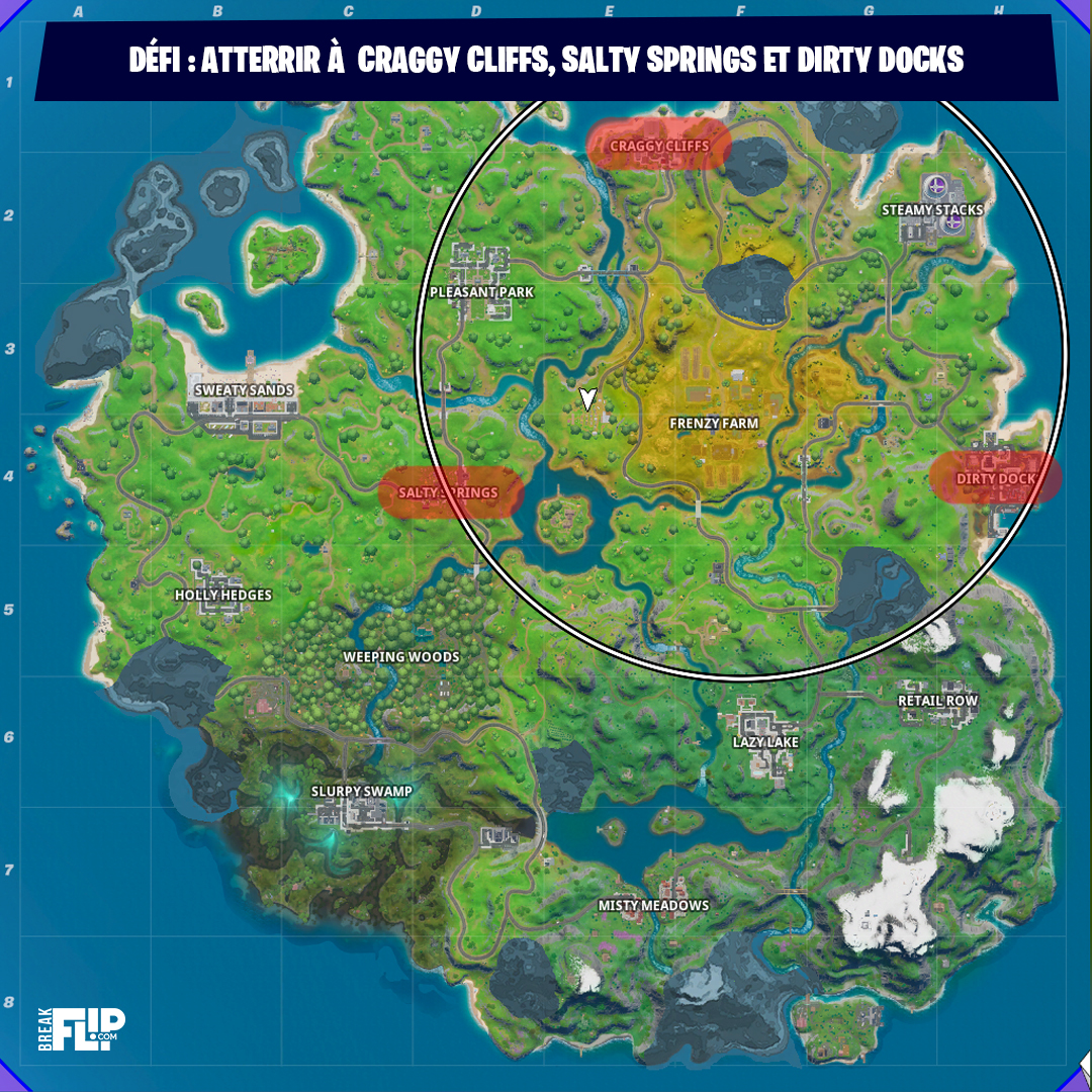 atterrir-craggy-cliffs-salty-spring-dirty-docks-mission-open-water-chapitre-2-fortnite