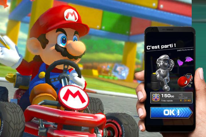 Mario Kart Tour : Changer de cc et jouer en 200cc