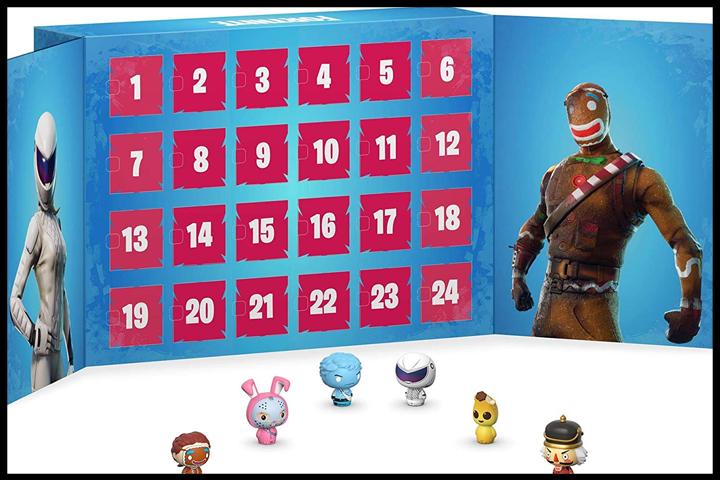 Calendrier Destiny 2.Fortnite Calendrier De L Avent Pour Noel Figurines