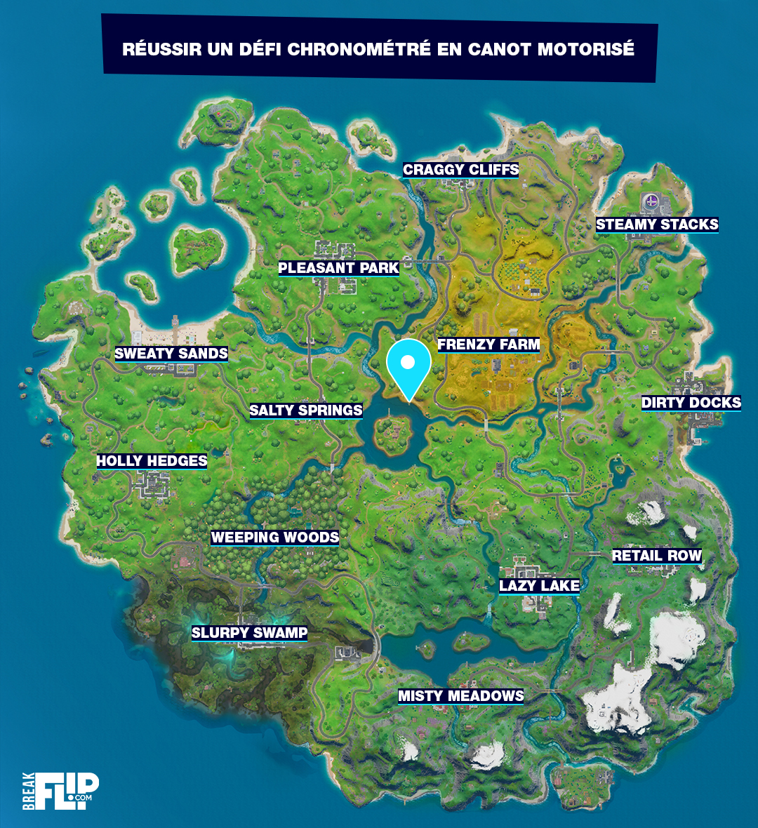 fortnite-defi-chronometre-canot-motorise
