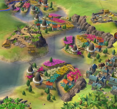 Civilization 6 : Rise & Fall - Les Pays-Bas - Breakflip