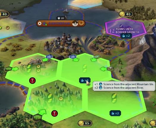 Civilization 6 : Rise & Fall - Les Pays-Bas - Breakflip