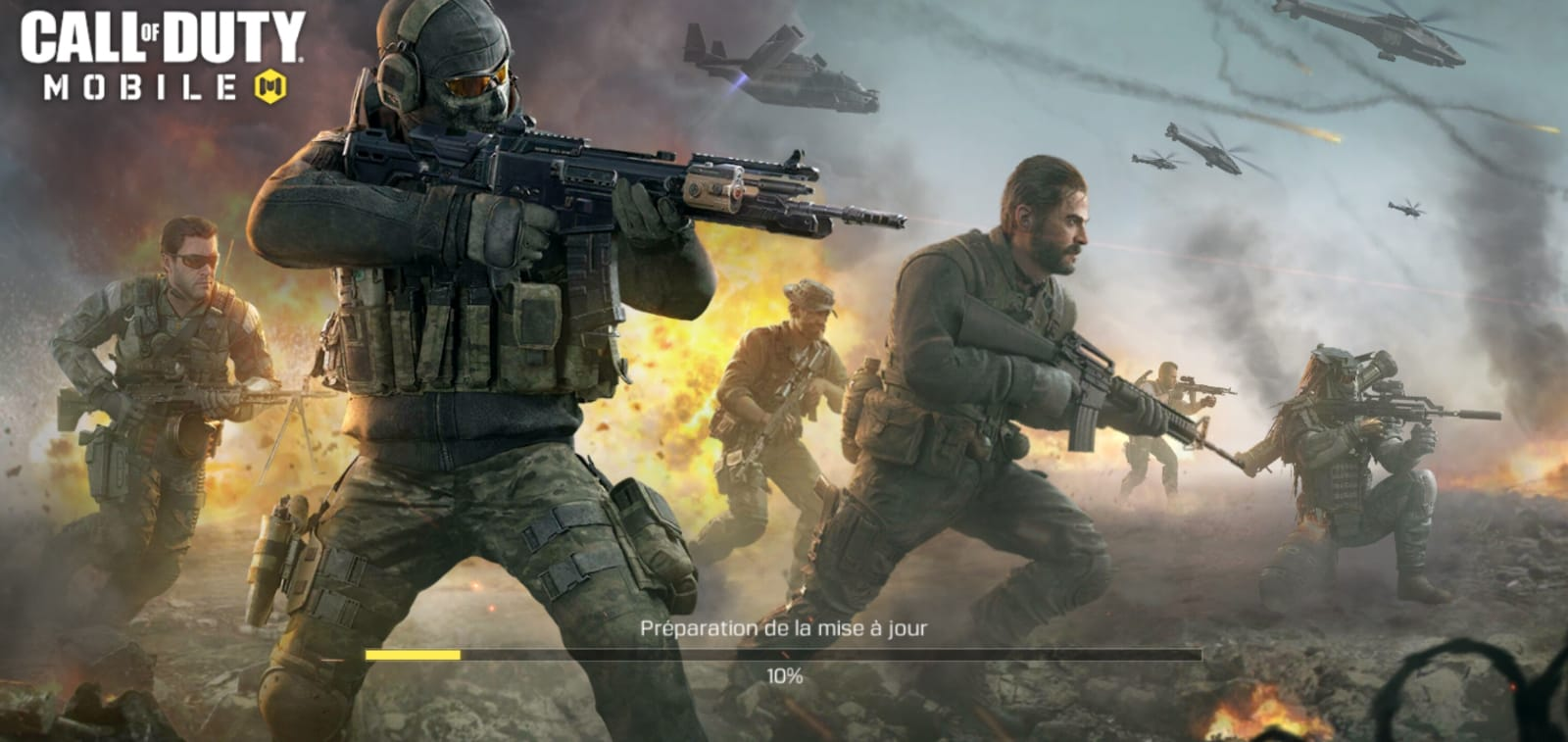 Call of Duty Mobile : Impossible de jouer, l'écran de ...