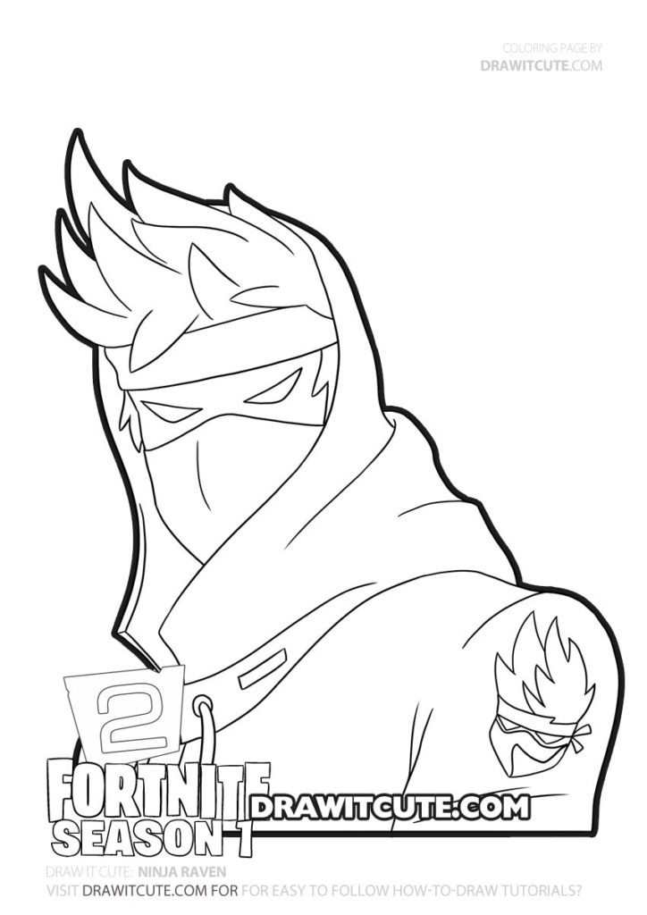 Coloriages Et Dessins Fortnite Ninja Streamer Breakflip