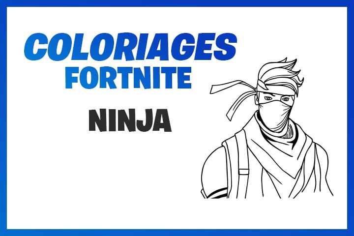 Coloriages Et Dessins Fortnite Ninja Streamer Breakflip