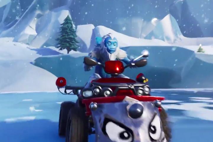 Fortnite Saison 7 : Neige et carte enneigée, découvrez les nouvelles villes Frosty Flights ...