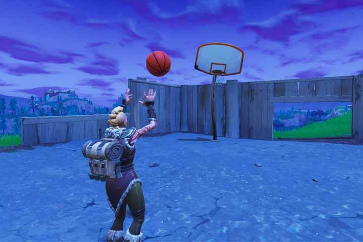 fortnite marquer des paniers de basket emplacement des terrains de basket defi semaine 2 breakflip actualite guides et astuces esport et jeu - panier de basket fortnite saison 5