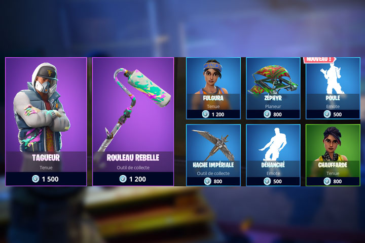 Boutique Fortnite 14 Mai Breakflip Actualit 233 Esport Et