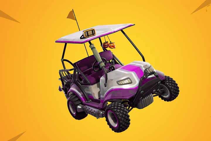 fortnite decorations et skins pour les voiturettes tout terrain breakflip actualite guides et astuces esport et jeu video - voiturette de golf fortnite