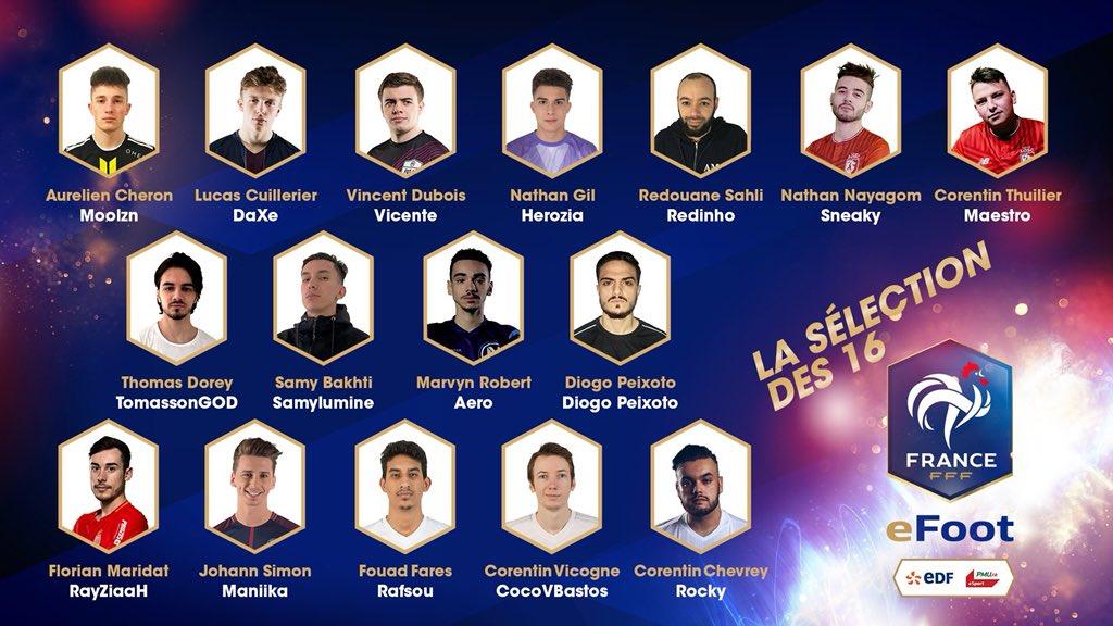 La FFF présente l'Équipe de France eFoot avec Neo