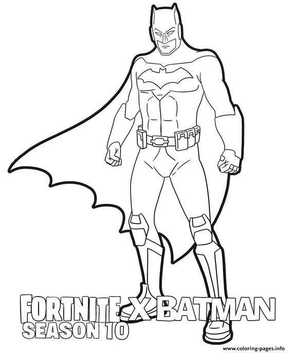 Coloriages Et Dessins Fortnite Batman Breakflip Actualites Et Guides Sur Les Jeux Video Du Moment