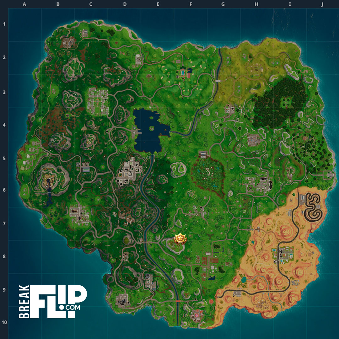 carte tresor flush factory Fortnite : Suivre la carte au trésor trouvée à Flush Factory