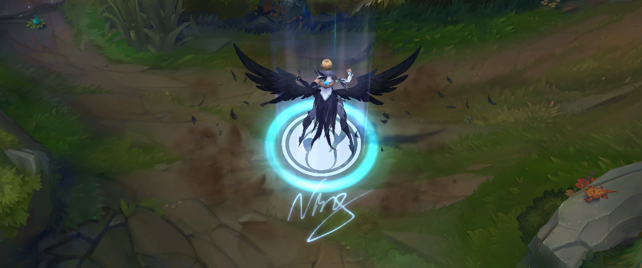LoL Invictus Gaming Camille Skin PBE