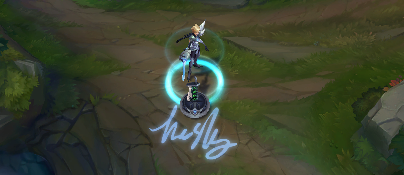 LoL Invictus Gaming Fiora Skin PBE