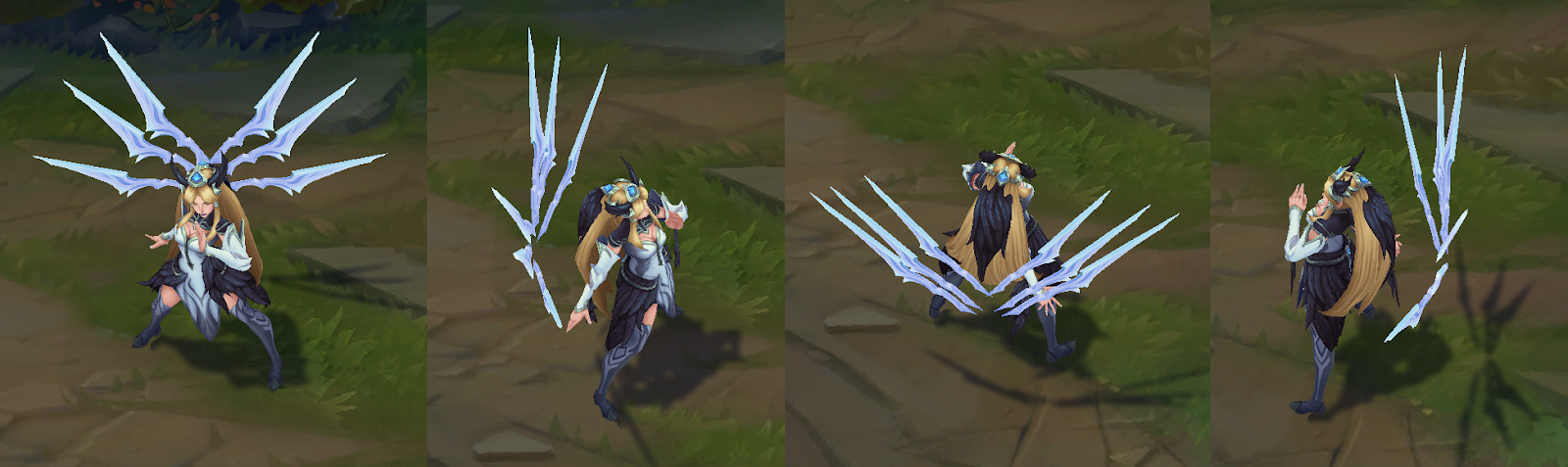 LoL Invictus Gaming Irelia Skin PBE